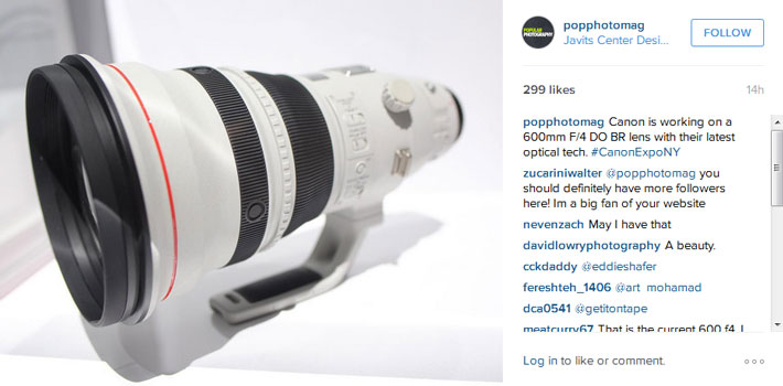 Canon ef 600mm lens reanimators
