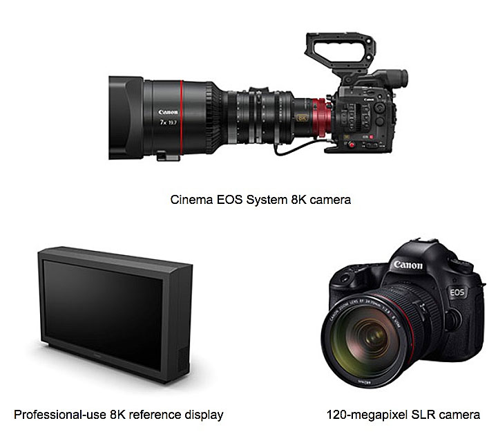 Canon 8k cinema camera and 120 megapixel ff dslr coming for New camera 2015