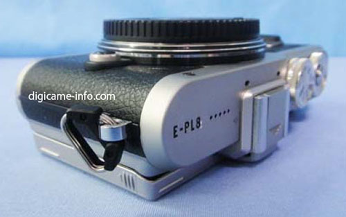 Olympus E-PL8 camera top image