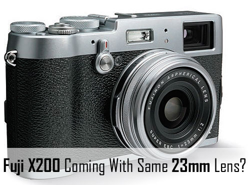 Fuji X100T Lens image