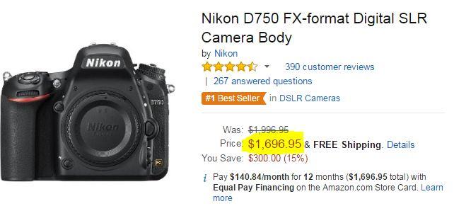 696 Nikon D750