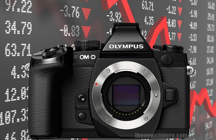 Olympus sales down