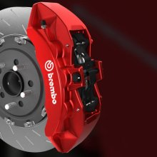 Big brakes big stopping power