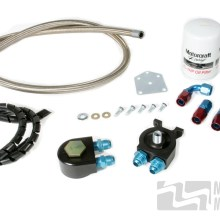 MM Oil Filter Relocation Kit for 1996-98 - Severe Duty