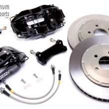 "StopTech Big Brake Kit, 1987-93 CMC Mustang, 13"", Black, Front"