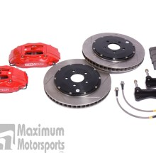 "StopTech Big Brake Kit, 1994-04 Mustang, 13"", Red, Front"
