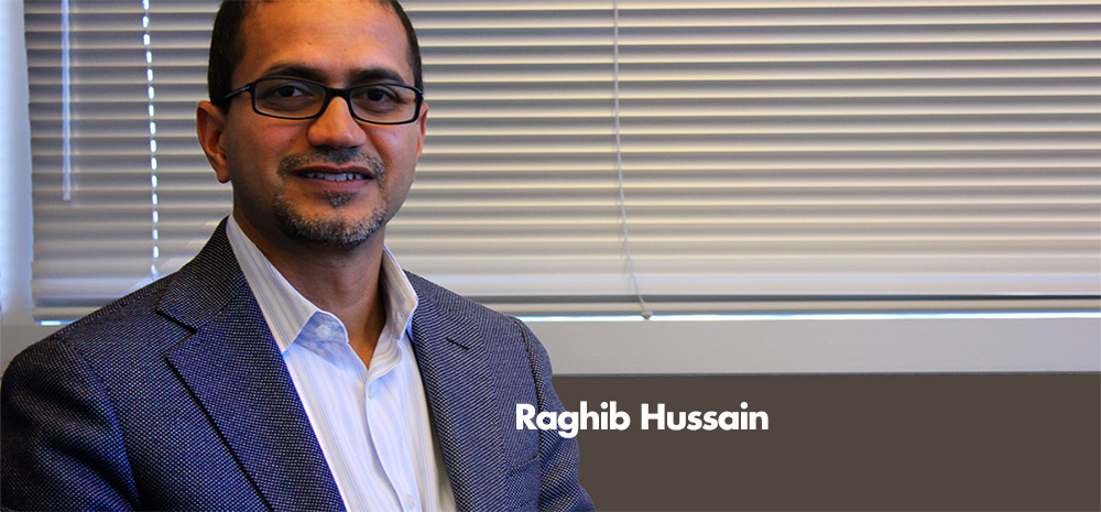 A Gigantic Leap of Faith: Raghib Hussain