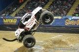 Monster Jam Show Dayton Monster Mutt Dalamatian jump