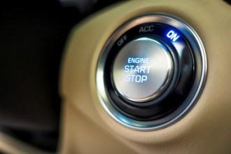 2017 Genesis G90 model overview car push button start