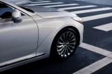 2017 Genesis G90 model overview front bumper driving