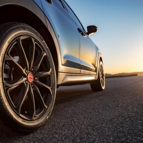 2017 Hyundai Tucson NIGHT model CUV special edition wheel