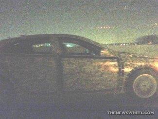 2018 Chevy Malibu test vehicle spy shot