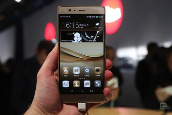 Huawei P9 Plus.