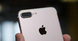 iPhone 7 Plus in rose gold