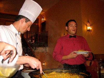 "Waiter: ""Hello, I am your waiter, Inego Montoya. You dropped your paella. Prepare to die!"