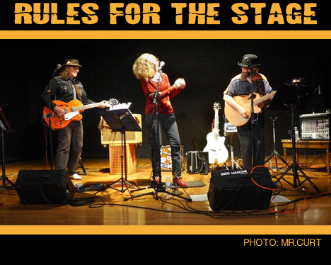 Rules for the Stage