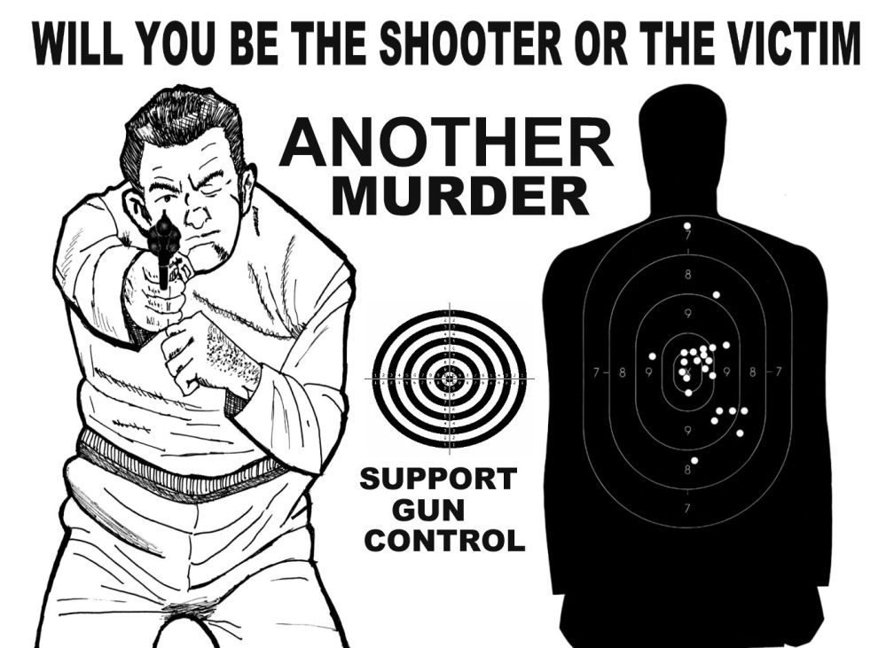 NO GUN CONTROL IS MURDER (6/6)