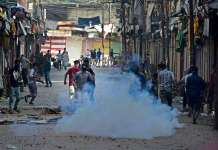 Violent protests in old city, curfew re-imposed in old city