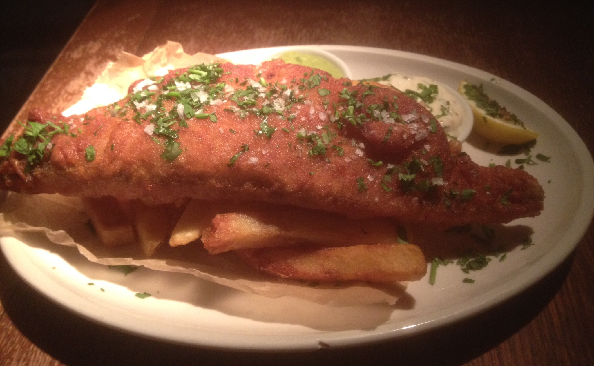 Watson Fothergills – Ale Battered Haddock Fillet (aka Fish and Chips)