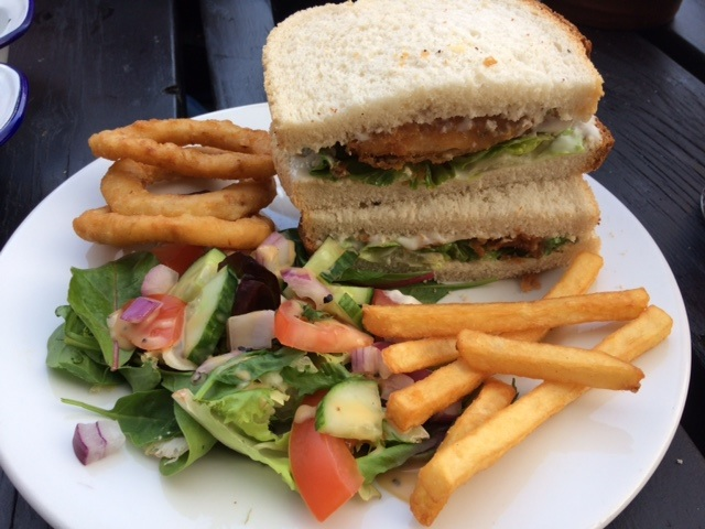 Pub Sandwiches at the Grosvenor in Carrington up on Mansfield Road in Nottingham