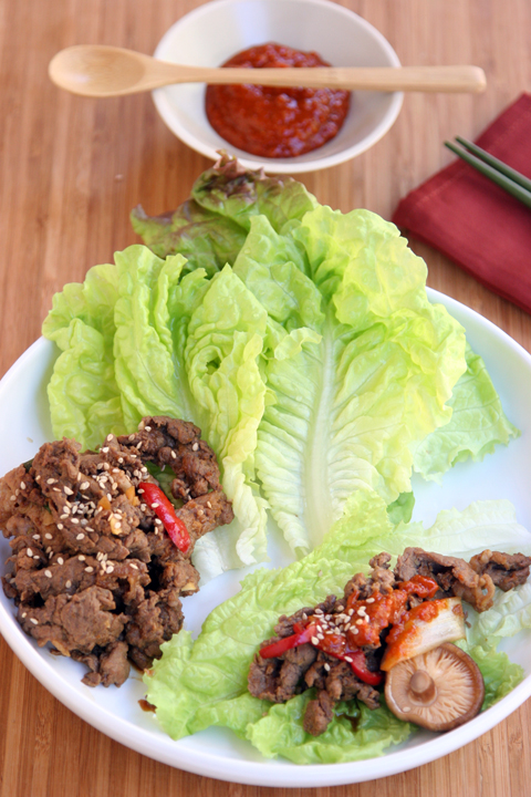 Paleo Bulgogi (Korean Barbecued Beef)