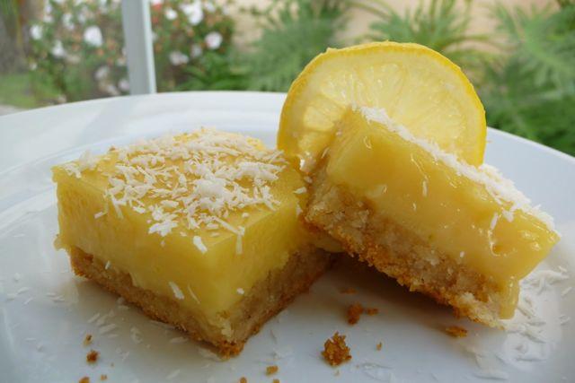 Paleo Lemon Dessert