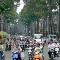 Video Update: Day 2 - Saigon traffic