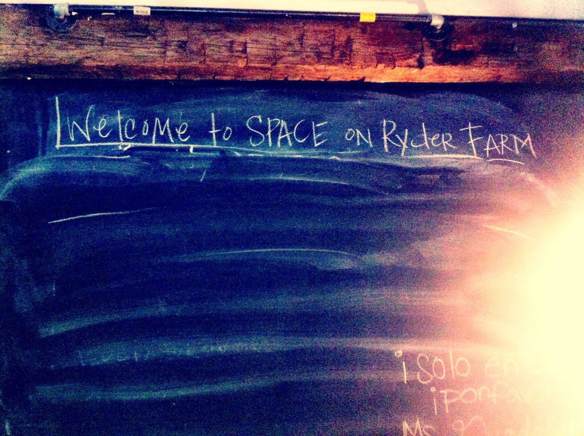Space on Ryder Farm - Sept 2012