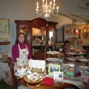 Tea serves by Heirlooms at Prairie Haven sale