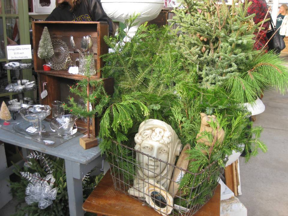 Glassware & Greens -  Urban Cottage