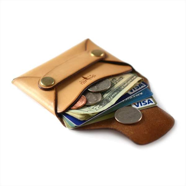 Leathershop Rivet Wallet