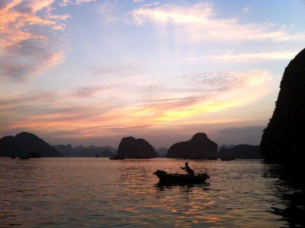 Vietnam - Halong Bay Sunset
