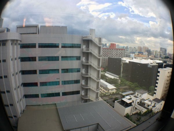 Big Hotel - View from Window