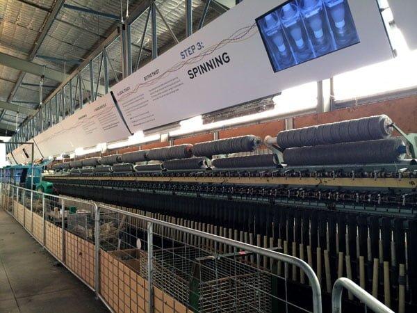 Daylesford Creswick Woolen Mills Spinning