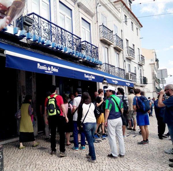 Portugal - Lisbon Belem Pasteis de Belem Entrance