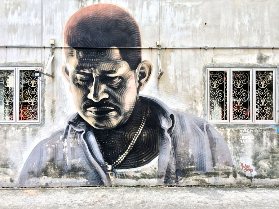 Where to find Street Art in Singapore: Little India