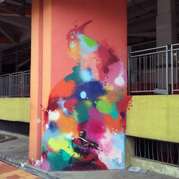 Singapore Street Art - TraseOne Classical 2