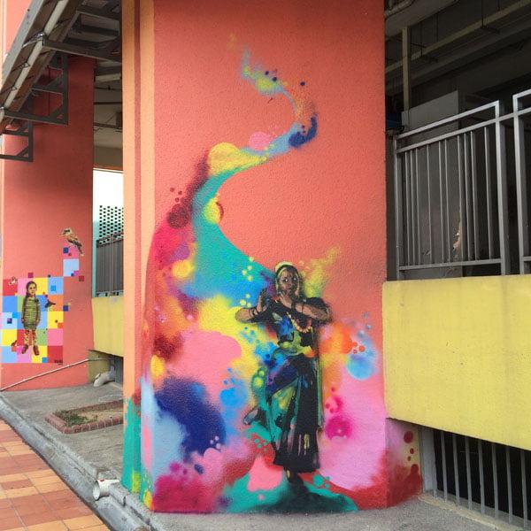 Singapore Street Art - TraseOne Classical 3