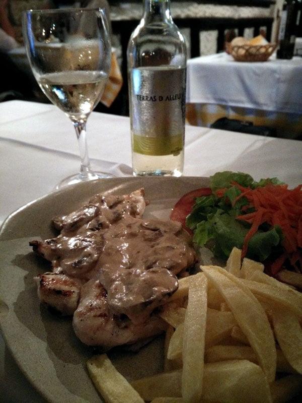 Portugal - Porto Gaia Restaurant Chicken