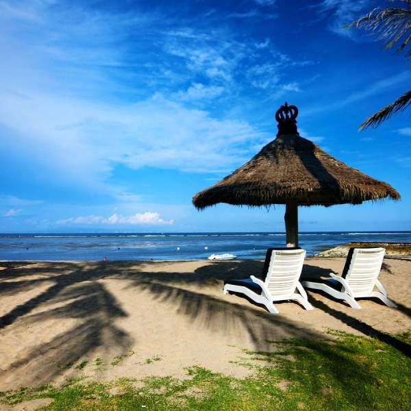 Bali Grand Mirage Resort Beach Hut