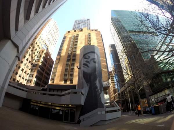 Melbourne Street Art Rone Little Collins