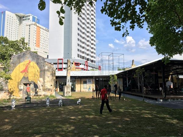Penang Street Art - Hin Bus Depot Outdoor Space