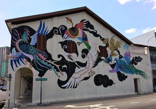 Penang Street Art - Maccullum Street Elle