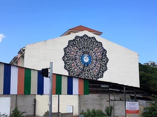 Penang Street Art - Raja Uda Nafir