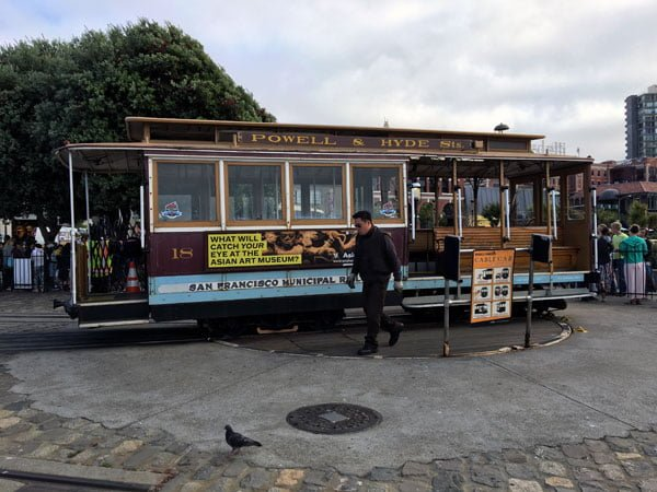 San Francisco - Cable Car Turntable