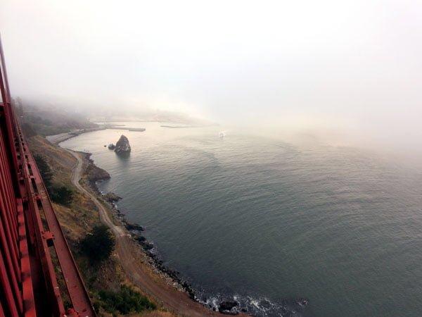 San Francisco - Golden Gate Bridge Obscuring