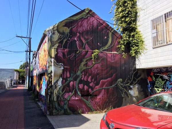 Where to find street art in San Francisco