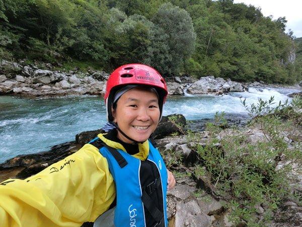 Hercegovina Konjic Rafting Selfie