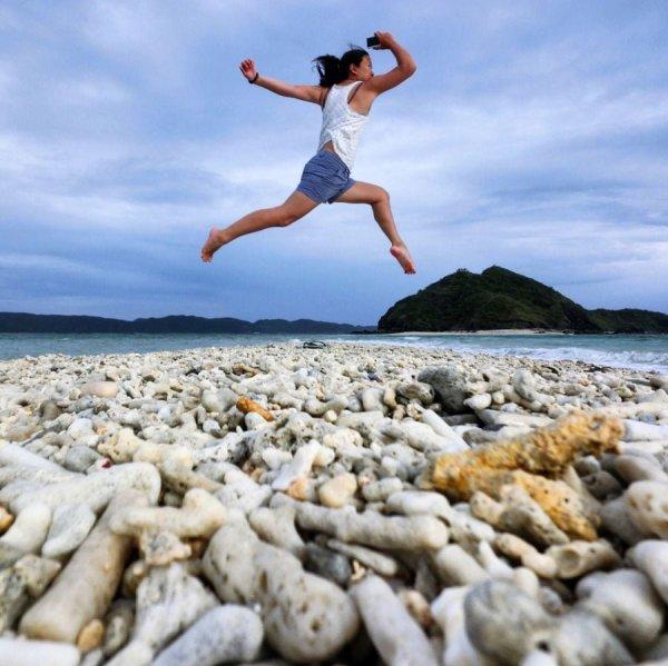 Okinawa Zamami Furuzamami Beach Jumpshot