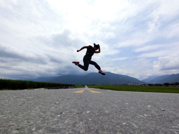Taitung Chishang Jumpshot Running Man